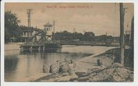 Main St., Barge Canal, Albion, N.Y. [front caption printed in red] (1front) [b0120ac1]