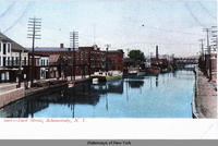 1907 - Dock Street, Schenectady, N.Y. [front caption] (1front) [e0249ac1]