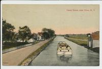 Canal Scene, near Utica, New York [front caption in red] (1front) [e0698ac1]
