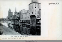 Erie Canal in Rear of Mills, Syracuse, N.Y. [front caption] (1front) [e0263ac1]