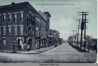 South Niagara Street (showing Erie Canal), Tonawanda, New York [front caption] (1front) [e0351ac1]