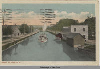 CANAL AT ILION, N.Y. [front caption] (1front) [e0413ac1]