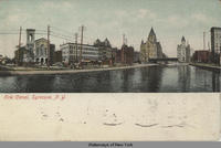 Erie Canal, Syracuse, N.Y. [front caption] (1front) [e0171ac1]