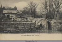 Erie Canal and Dry Dock. Ilion, New York [front caption] (1front) [e0411ac1]