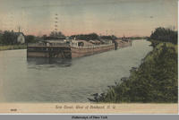 Erie Canal, West of Brockport, N.Y. [front caption] (1front) [e0412ac1]