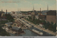 Erie Canal Locks, Lockport, N.Y. [front caption] (1front) [e0174ac1]
