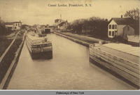 Canal Locks, Frankfort, New York [front caption] (1front) [e0395ac1]