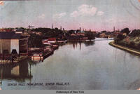 SENECA FALLS FROM BRIDGE, SENECA FALLS, N.Y. [front caption] (1front) [s0007ac1]