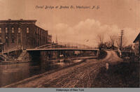 Canal Bridge at Brutus St., Weedsport, New York [front caption] (1front) [e0314ac1]