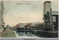 Erie Canal. -- Utica, New York [front caption] (1front) [e0353ac1]