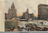 Clinton Square, Syracuse, New York [front caption] (1front) [e0121ac1]