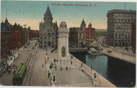 Clinton Square, Syracuse, N.Y. [front caption] (1front) [e0192ac1]