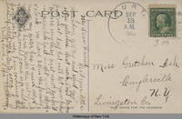 Locks, Erie Canal, Lockport, N.Y. [front caption] (2back) [e0172ac2]