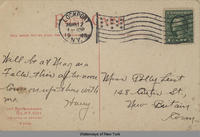ERIE CANAL VIEW, LOCKPORT, N.Y. [front caption] (2back) [e0194ac2]
