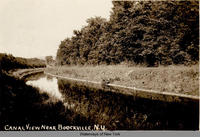 Canal View Near Boockville, N.Y. [front caption] (1front) [e0270ar1]