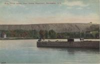 Erie Canal scene, near Cobbs Reservoir, Rochester, N.Y. [front caption] (1front) [e0220ac1]