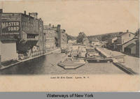 Lock 55 Erie Canal. Lyons, New York [front caption] (1front) [e0227ac1]