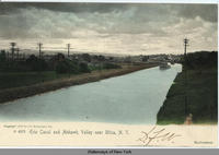 Erie Canal and Mohawk Valley near Utica, New York  [front caption] (1front) [e0354ac1]