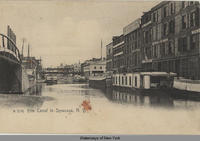 Erie Canal in Syracuse, N.Y. [front caption] (1front) [e0356ac1]