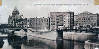 Junction of Erie and Oswego Canals, Syracuse, N.Y. [front caption] (1front) [e0334ac1]