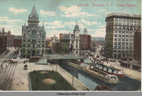Syracuse, N.Y. Clinton Square. [front caption] (1front) [e0168ac1]