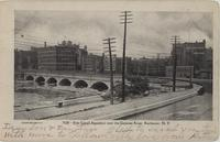 Erie Canal Aqueduct over the Genesee River, Rochester, N.Y. [front caption] (1front) [e0219ac1]