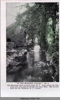In the Mohawk Valley. No. 2. Old Historical Canal at Little Falls, N.Y. Built before the Erie Canal and now used as a Feeder for many Mills. May be seen from the Car Windows, New York Central. [front caption] (1front) [e0321ac1]