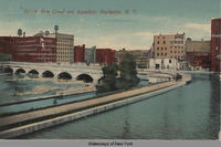 Erie Canal and Aqueduct, Rochester, New York [front caption] (1front) [e0387ac1]