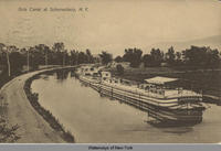 Erie Canal at Schenectady, N.Y. [front caption] (1front) [e0345ac1]