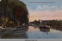 Cayuga and Seneca Canal, Seneca Falls, N.Y. [front caption] (1front) [s0004ac1]