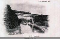 N.Y.C. R. R. Bridge, Lockport, New York [front caption] (1front) [e0315ac1]