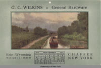 G.C. WILKINS :: GENERAL HARDWARE (ALONG THE OLD CANAL) [front caption] (1front) [e0403ac1]