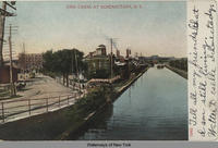 Erie Canal at Schenectady, N.Y. [front caption] (1front) [e0238ac1]