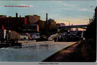 The Locks, Lockport, N.Y. [front caption] (1front) [e0316ac1]