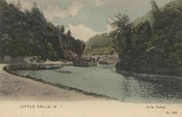 LITTLE FALLS, N.Y.; Erie Canal [front caption] (1front) [e0344ac1]
