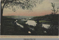 In the Mohawk Valley, showing N.Y. Central and West Shore Railroads, Mohawk River and Erie Canal, Little Falls, N.Y. [front caption] (1front) [e0362ac1]