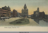 Clinton Square, Syracuse, N.Y. [front caption] (1front) [e0240ac1]