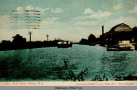 Erie Canal, Albion, N.Y. [front caption] (1front) [e0273ac1]