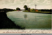View of the Erie Canal near Brockport N.Y. [front caption] (1front) [e0271ac1]