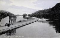 Erie Canal near Little Falls, N.Y. [handwritten front caption] (1front) [e0400ac1]
