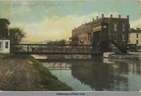 Lift bridge over Erie Canal, Ilion, N.Y. [front caption] (1front) [e0419ac1]