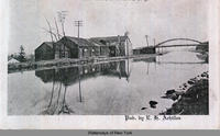Canal scene with bridge] [caption cut off during scanning (1front) [e0295ac1]