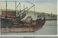New Barge Canal, Whitehall, N.Y. [handwritten front caption] (1front) [c0012ac1]