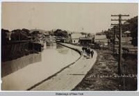 Canal At Whitehall, N.Y [handwritten front caption] (1 front) [c0053ac1]