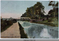 Champlain Canal at Glens Falls, N.Y. [front caption] (1front) [c0052ac1]