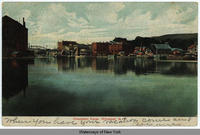 Champlain Canal, Whitehall, N.Y. [front caption] (1front) [c0007ac]