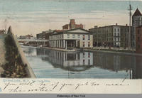 SYRACUSE, N.Y. Erie Canal office [front caption] (1front) [e0198ac1]