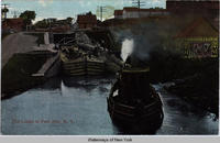 The Locks at Fort Ann, N.Y. [front caption] (1front) [c0056ac1]