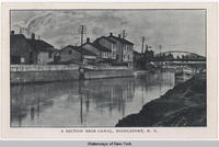 A SECTION ERIE CANAL, MIDDLEPORT,  N.Y.  [front caption] (1front) [e0481ac1]