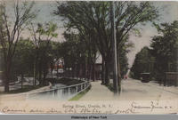 Spring Street, Oneida, N.Y.  [front caption] (1front) [e0473ac1]